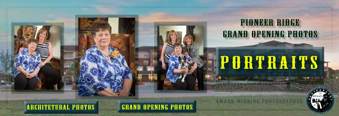 Pioneer Ridge Grand Opening & Architecturals.  Portraits by Juan Carlos of Entertainment Photos epoof